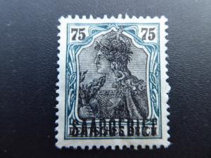 Germany  Saar 1920  Sc.#54