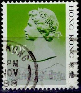 Hong Kong; 1987: Sc. # 490: O/Used Single Stamp