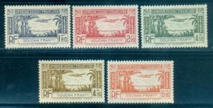 French Sudan #C1-C5  Mint  Scott $3.95