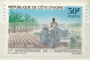 Ivory Coast =  Scott # 246 - MH