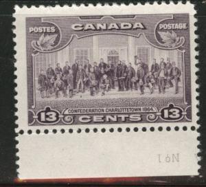 Canada Scott 224 MH* 1935 13 cent stamp