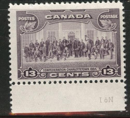 Canada Scott 224 MH* 1935 13 cent stamp