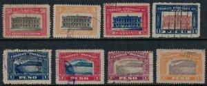 Paraguay #233,6,43-8  CV $3.00