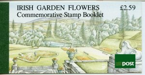 IRELAND GARDEN FLOWERS  COMPLETE UNEXPLODED BOOKLET  MINT NH