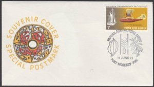 PAPUA NEW GUINEA 1972 cover Agricultural Show Port Moresby..................L603