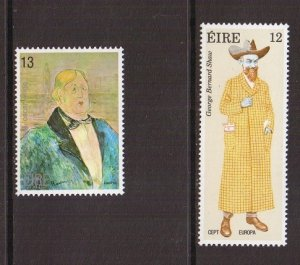 Ireland   #478-479  MNH   1980   Europa  Shaw and Wilde