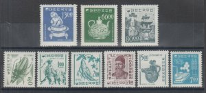 Korea Sc 516-525 MNH. 1966 Pictorials, complete set, VF