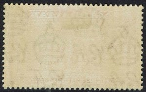 GIBRALTAR 1938 KGVI THE ROCK 11/2D PERF 13.5