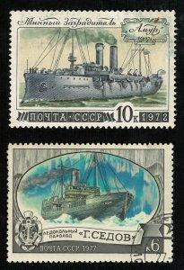 Ships, USSR, (2740-T)