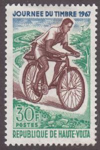Burkina Faso 180 Postman on Bicycle 1967