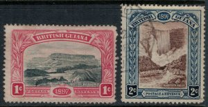 British Guiana #152* no gum, 153u  CV $14.75