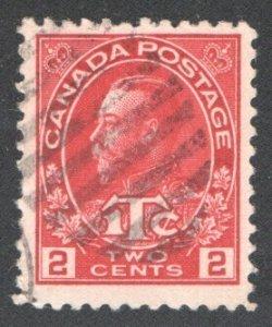 CANADA #MR3a VF, Used.   CV 4.50    ...   1151158