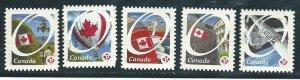 Canada 2419-23   used  PD