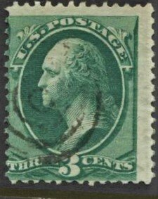 STAMP STATION PERTH US  #158 Used