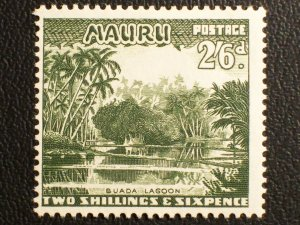 Nauru Scott #46 unused