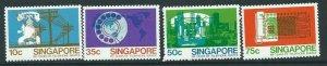 SINGAPORE SG352/5 1979 TELEPHONE SERVICE MTD MINT