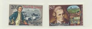 Norfolk Island Scott #240 To 241, Captain Cook Issue From 1978, MNH - Free U....