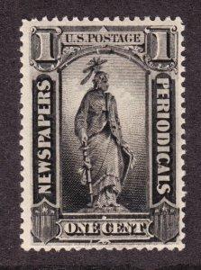 US PR81 1c Newspaper Periodicals Mint VF OG LH SCV $95