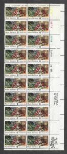 1561 MNH, 10c. Haym Salomon Plate # Strip/Zip block of 20
