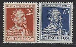 Germany Scott # 578 - 579, mint nh