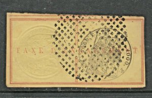 France and Colonies revenue Fiscal stamp 11-18-20 Reunion