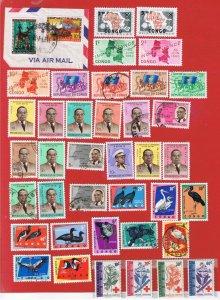 Congo DR #349//446  MVFLH OG  Various Stamps  Free S/H