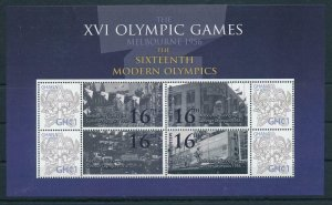 [106968] Ghana 2009 Olympic Games Melbourne 1956 Sheet MNH