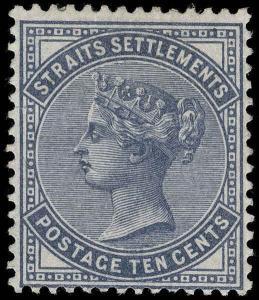 Straits Settlements Scott 39 Gibbons 49 Mint Stamp