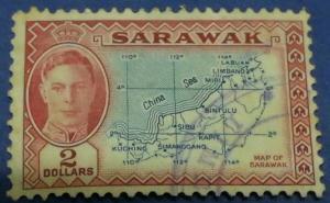 Sarawak Scott # 193 Used