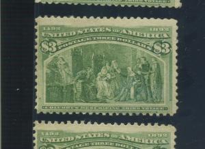 Scott 243 Columbian High Value Mint Stamp (Stock 243-13)