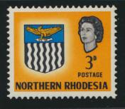 Northern Rhodesia  SG 78 SC# 78 MH - see details
