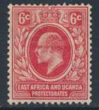 East Africa & Uganda Protectorate Mint Hinged  - SG 43 SC#39 - see details
