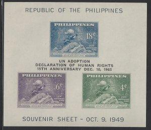 901 Human Rights Declaration/UPU Overprint CV$4