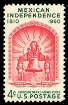 1157 Mexican Independence F-VF MNH single