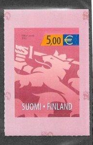 Finland #1172  e5 self adhesive  (MNH ) CV$16.00