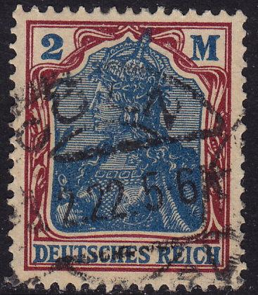 Germany - 1920 - Scott #131 - used - Germania
