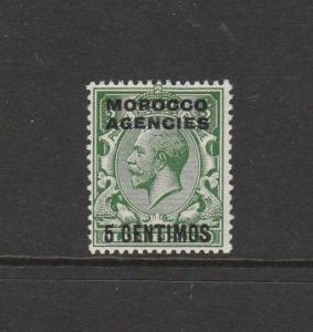 Morocco Agencies Spanish 1914/26 5c on 1/2d LMM SG 129