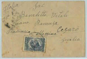 96740 - ARGENTINA - POSTAL HISTORY - Single Stamp on COVER to Cesaro ITALY  1948