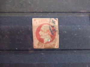 Hanover 1 Groschen red #3