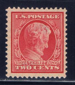 U.S. 367 NH 1909 Abe Lincoln