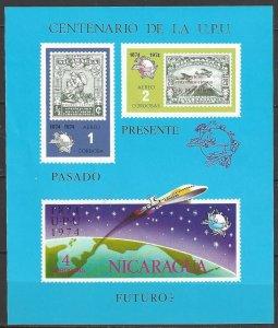 Nicaragua  C855d   MNH  UPU Centenary 1974