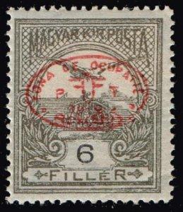HUNGARY STAMP Debrecen 1919 Hungarian Stamps Ovpt.  6F MH/OG