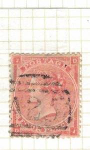 Malta GB Used Abroad SG Z48 Plate 4 Item Two VFU (7drv)