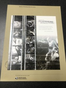US 3772 American Filmmaking Souvenir Page First Day Of Issue 2003