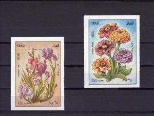 Iraq 21.03.1998 Flowers (2) s/s Imperforated mnh.vf #1537/7