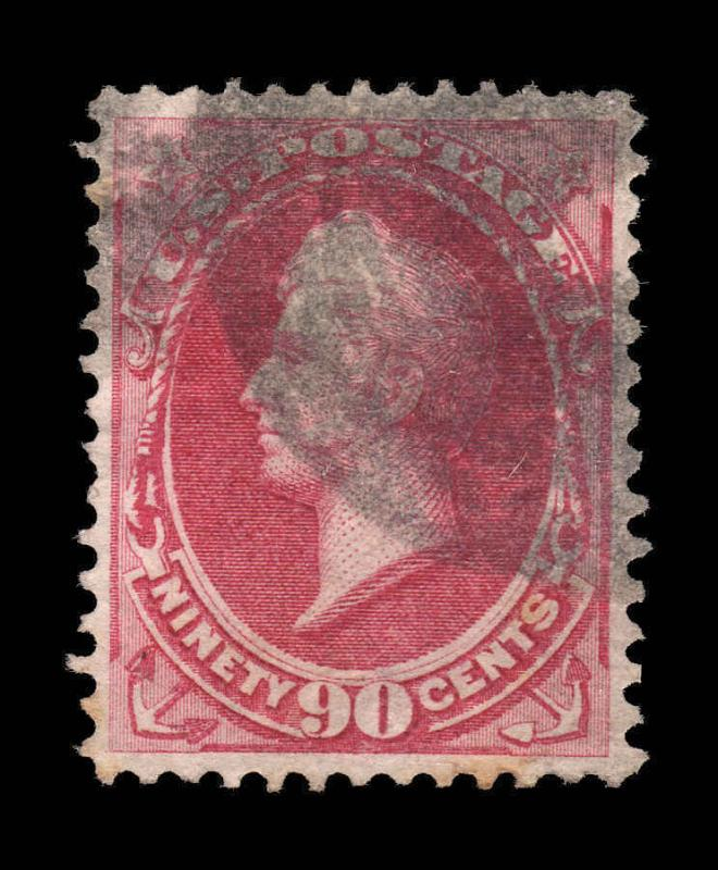 US 1870-1 #155 90c Perry Sound Stamp