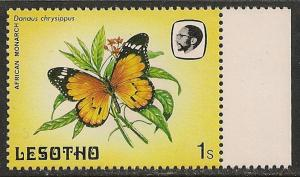 Lesotho #421 (SG #563) VF MNH - 1984 1s Butterfly
