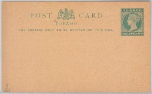 TOBAGO -  POSTAL STATIONERY CARD: Higgings & Gage # 5