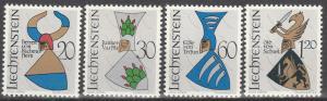 Liechtenstein #411-4   MNH  (S6268)