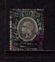 EAST AFRICA & UGANDA PROT Sc# 61 USED VGF King George V